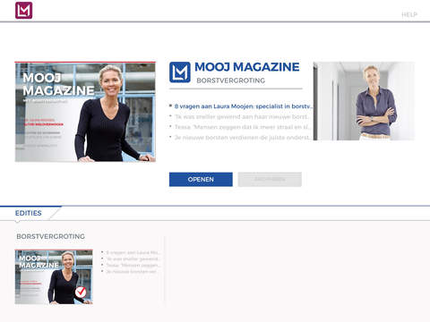 Mooj Magazine 1 over borstvergroting – te downloaden in de AppStore